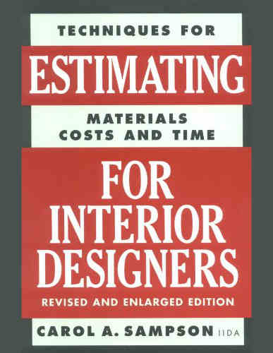 Estimating for Interior Designers