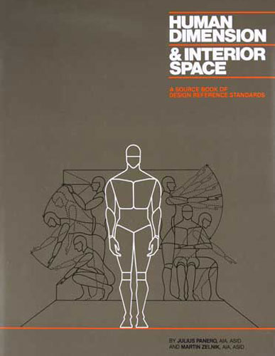 Human Dimension Interior Space A Source Book Of Design Reference Standards