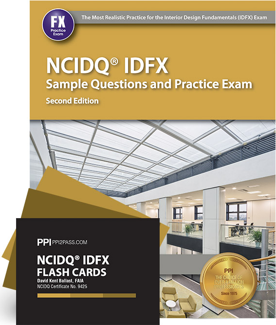 NCIDQ IDFX Sample Questions And Flash Card Bundle