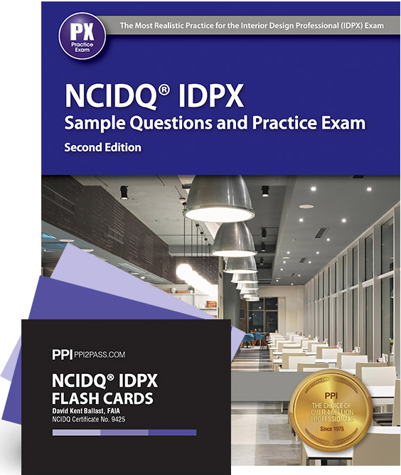 NCIDQ IDPX Sample Questions And Flash Card Bundle