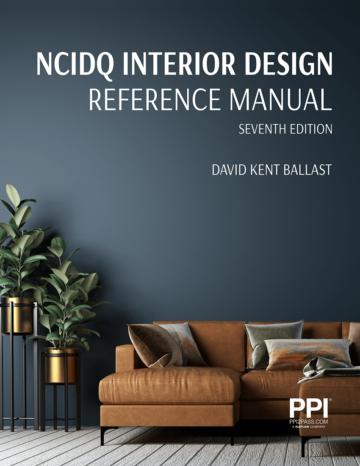 Interior Design Reference Manual, 7th Edition