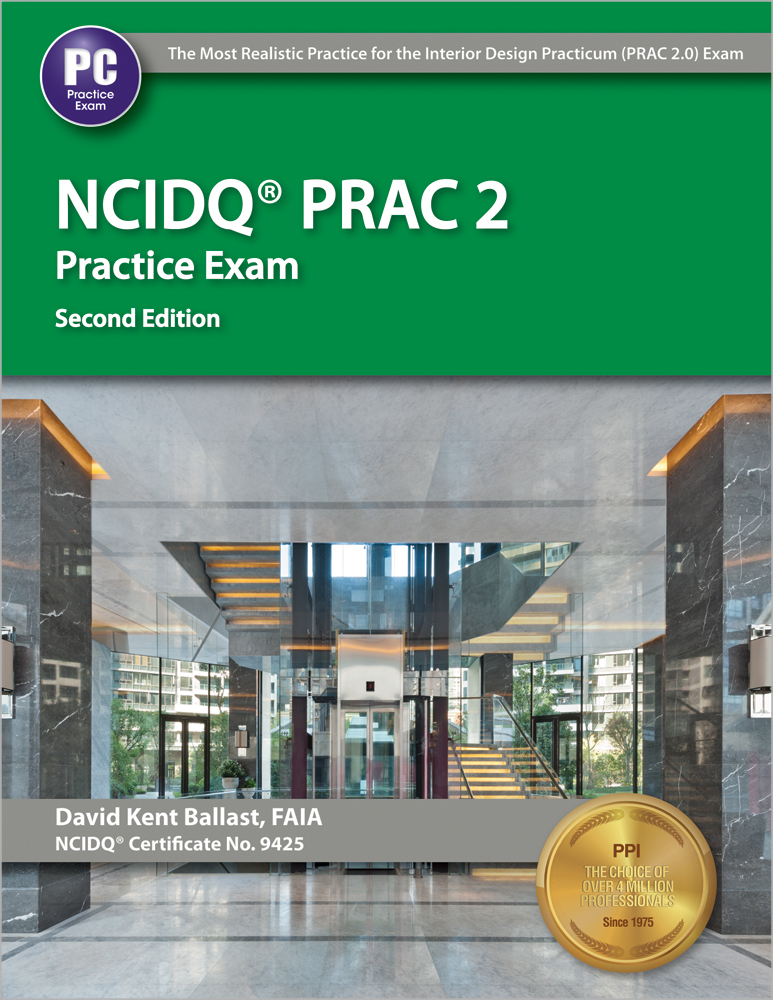 NCIDQ PRAC 20 Practice Exam Problems