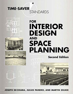 Time Saver Standards for Interior Design
