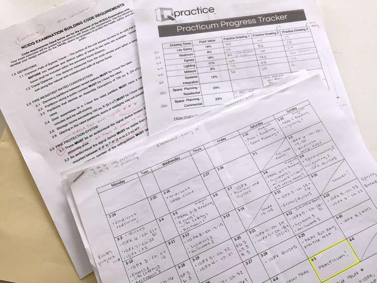 ncidq study schedule